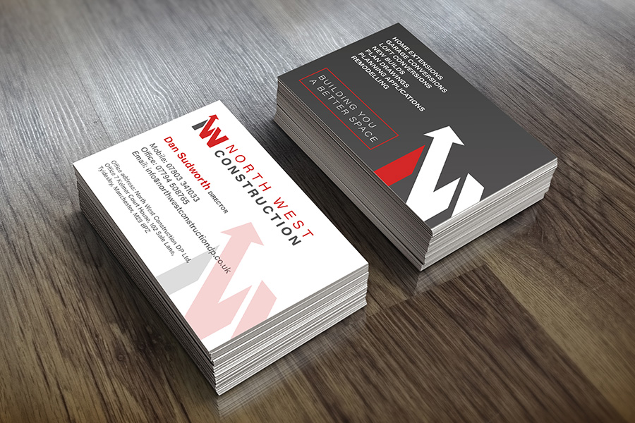 Business card design Golborne
