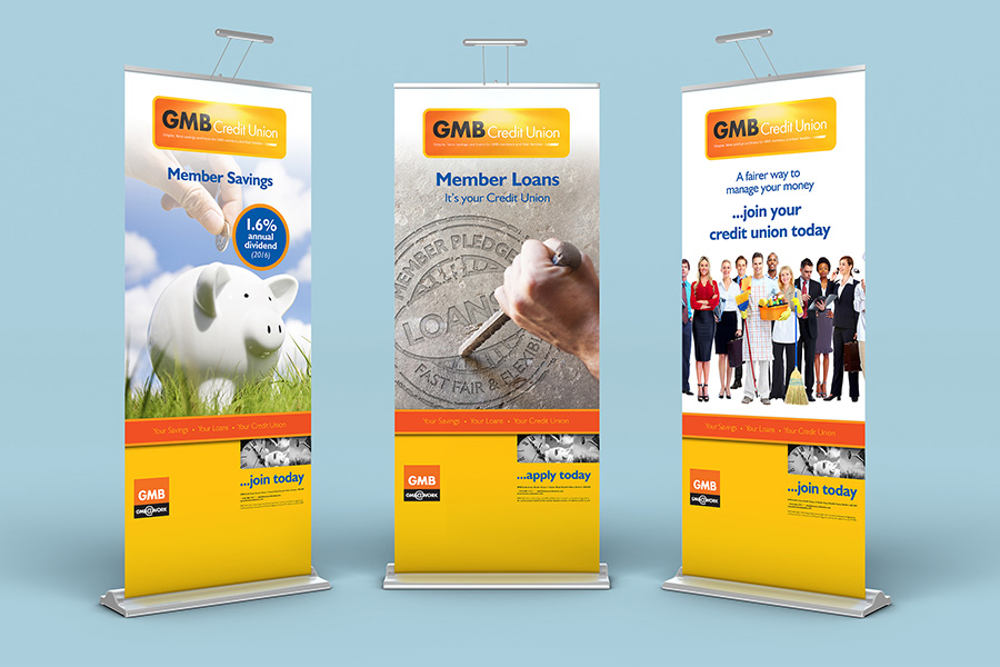 Pull-up banner design Swinton
