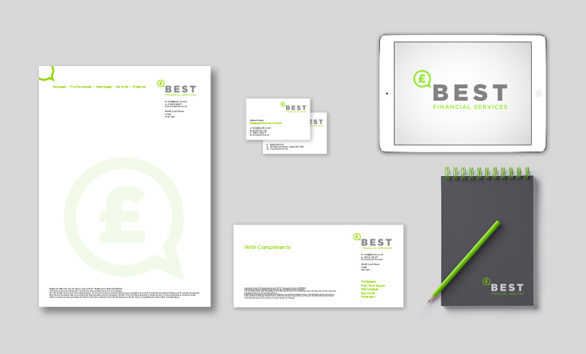 Stationery design Swinton