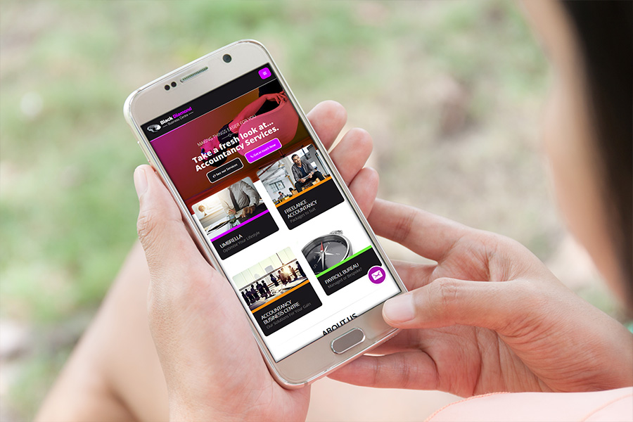 Mobile website design Winwick